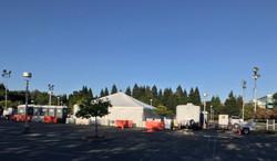 CS parking lot set up