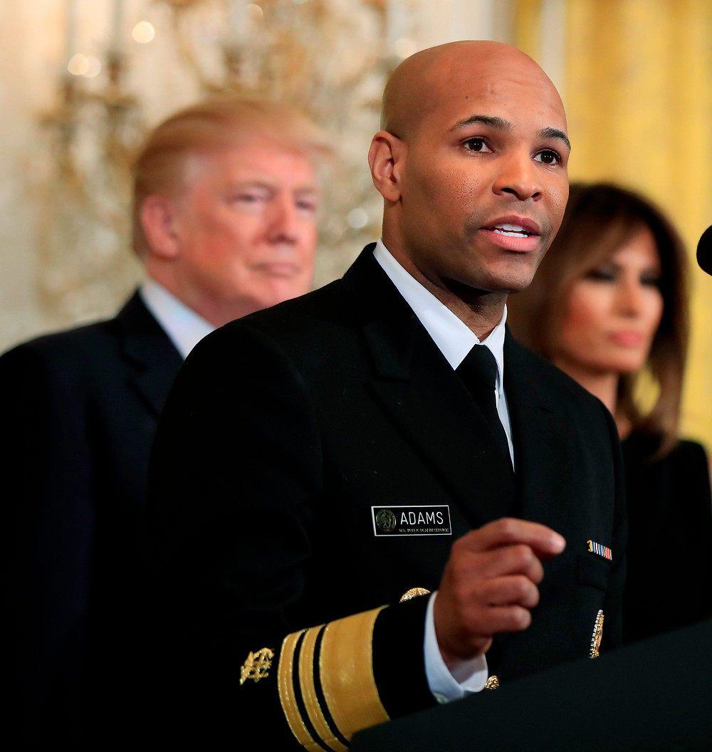 United States Surgeon General Jerome Adams