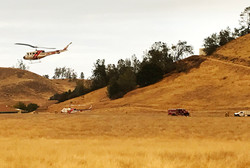 CAL fire choppers