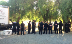 CAL fire group waiting