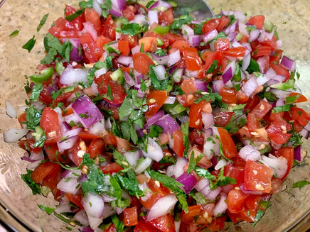Super Simple Salsa in 20 minutes or less!