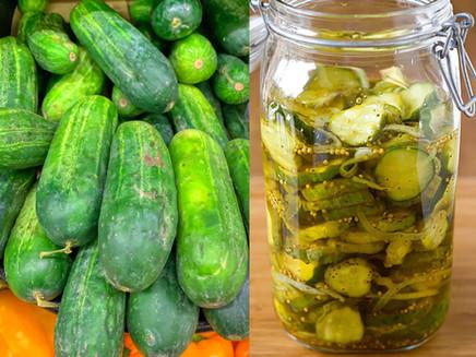 Uber-Fresh Refrigerator Pickles
