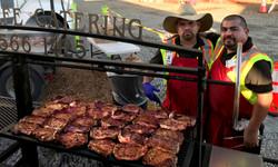 BBQing Steaks