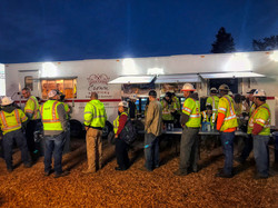 CAL Fire Crew being served