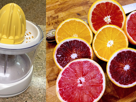 A Citrus Rainbow in the Gray of Winter...
