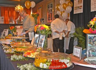 Crown Café Catering Makes Big Splash at 2014 Santa Cruz Bridal Show!