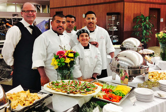 HP Continues Year-Long Catering Relationship With Crown Café Catering!