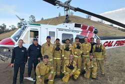 CAL Fire chopper crew