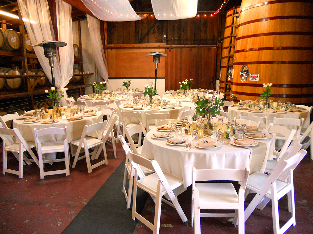 Winery Receptions..