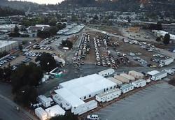 CS Base Camp Drone Aerial