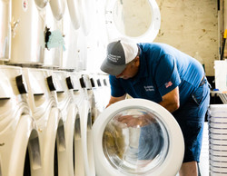 loading laundry