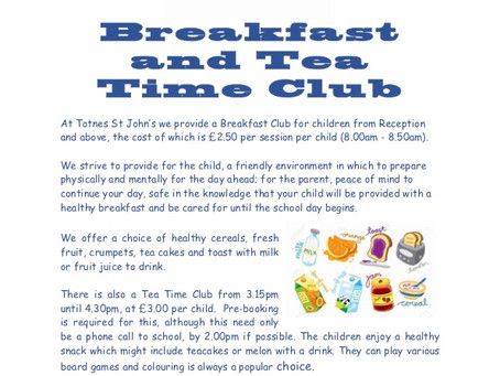 Breakfast and Tea Time Club
