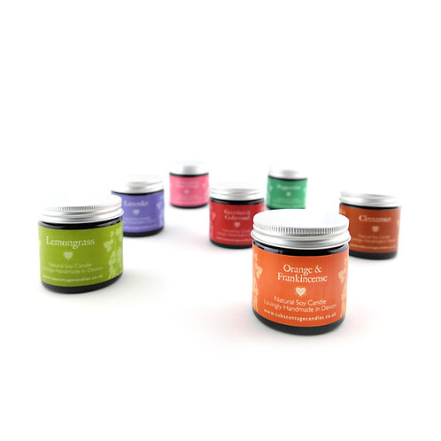 Mini Soy Wax Candles - 2 for £12