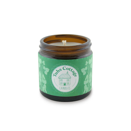 Mini Peppermint soy wax candle with pure essential oil