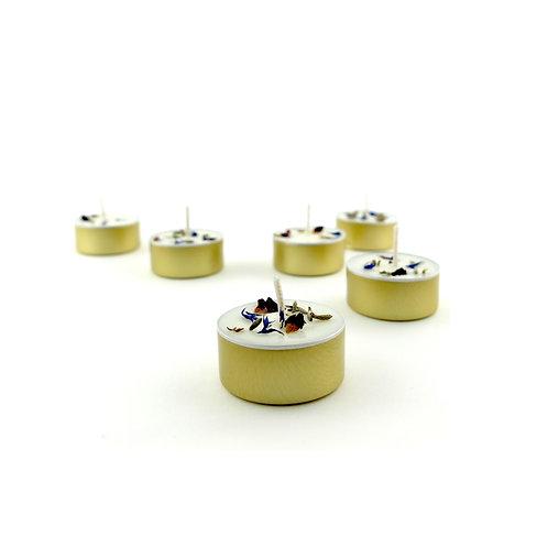 Six Lavender Tea Lights