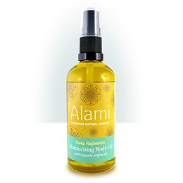 Deep Replenish Moisturising Body Oil with Organic Argan Oil