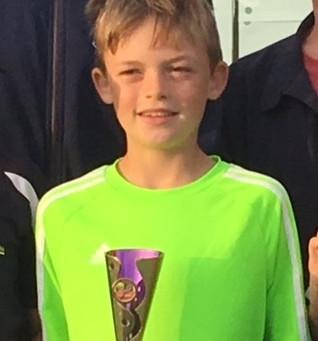 Brendan's Tennis win