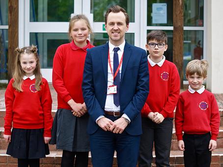 Redhills Primary School retains its 'good' status