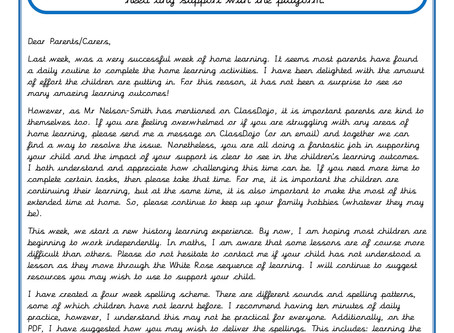 Year 4 - Weekly Newsletter 27th April