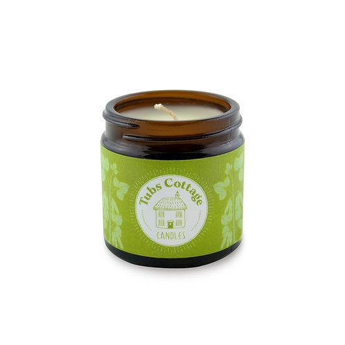 Mini Lemongrass soy wax candle with pure essential oil