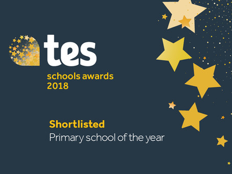 Shaldon Primary shortlisted for Primary School of the Year