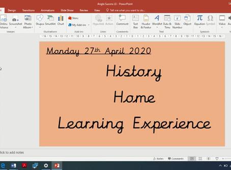 Year 4 - Monday 27th April Video