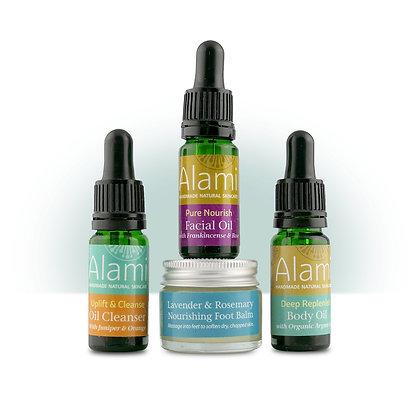 Alami Mini Gift Bundle with Pure Nourish