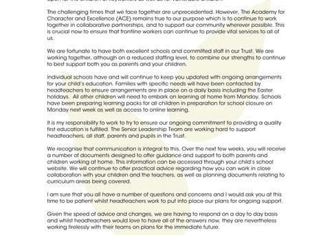 Letter from Cheryl Weyman CEO