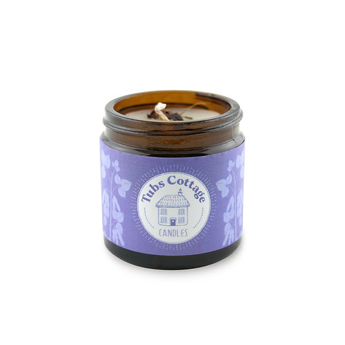 Mini Lavender soy wax candle with pure essential oil