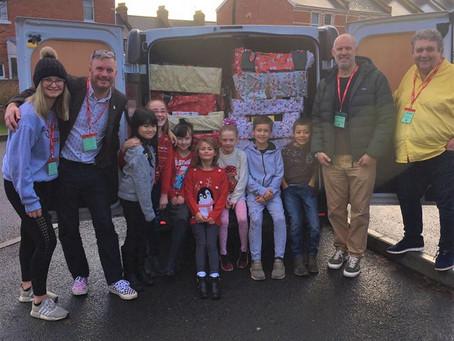 Redhills Primary School – Feeding the Foodbank!