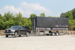 used xl mobile stage trailer