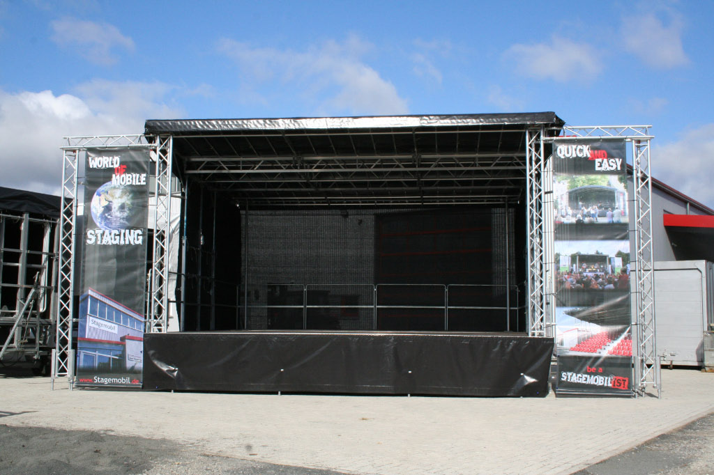 used l mobile stage