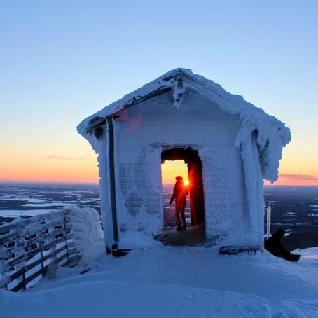 Winterwonderland in het hoge Noorden