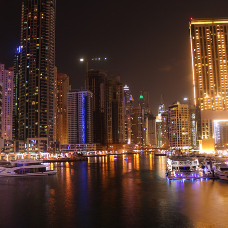 Eerste bestemming: Dubai! (wereldreis)