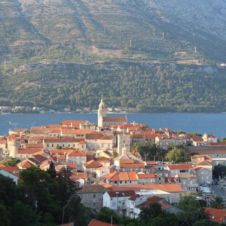 Korcula, pareltje aan de Adriatische kust