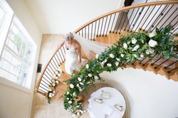 Morais Flower Stairs with Bride