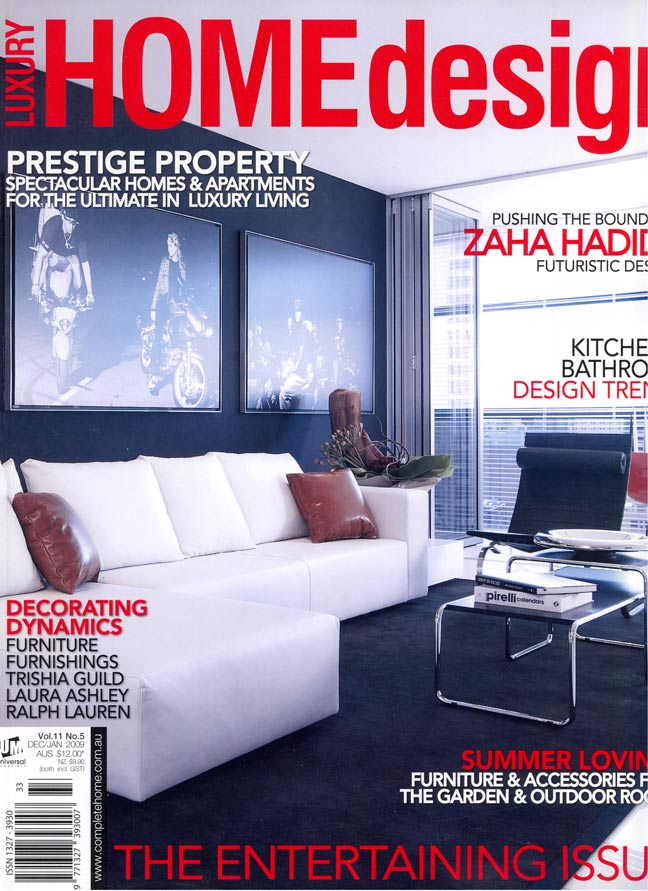 Luxury Home Design Magazine Cover