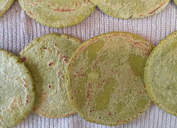 Sopes de maíz con cilantro Docena