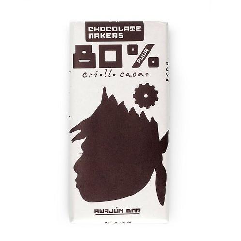 Chocolade 80% Awajùn puur
