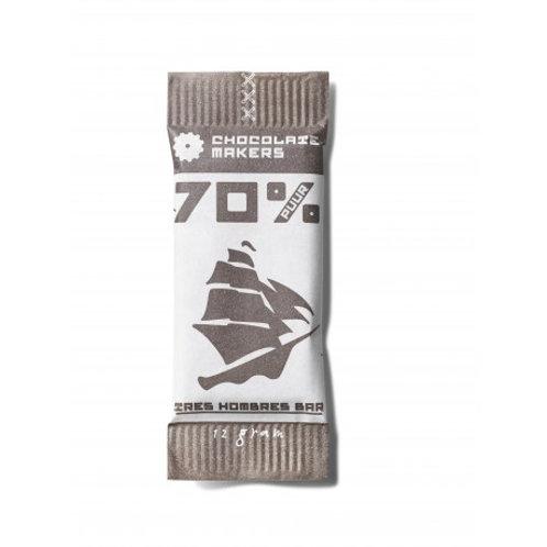 Mini Chocolade 70% Tres Hombres