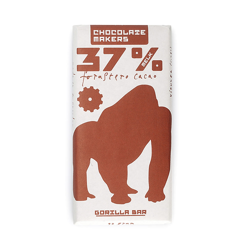 Chocolade 37% Gorillabar melk