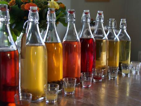 Alcoholvrij toasten op Kerst en Nieuw: Icetea, Kefir, Kombucha.