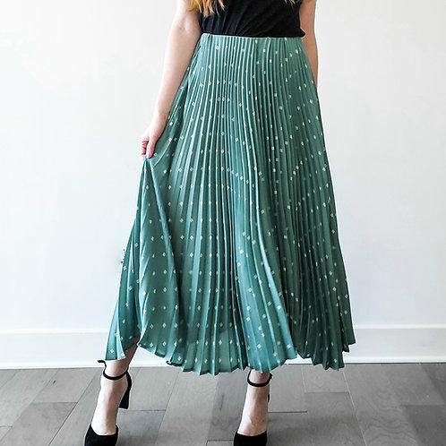 Mylynn Pleated Midi Skirt