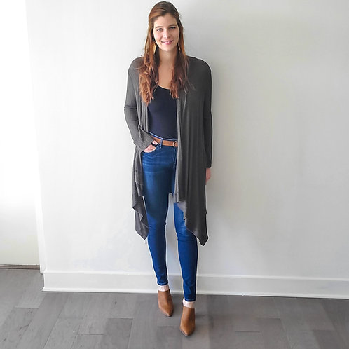 Isabell Drape Front Cardigan