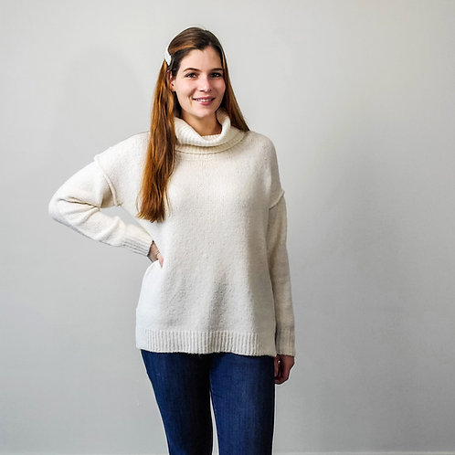 Nicole Cowl Neck Sweater