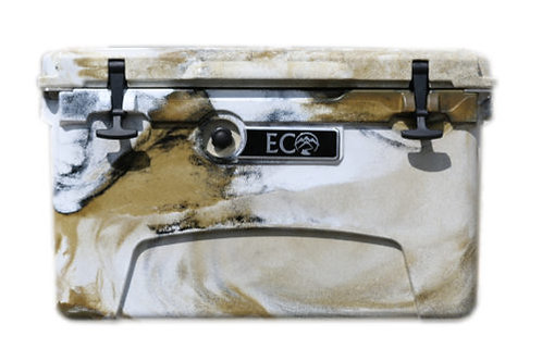 Ice Anchor Rack + Desert Sand Camo Eco Cooler Package