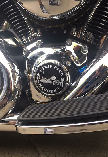 Chrome SCB Timing Cover (EVO/Twin Cam)