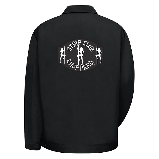 Women's SCC Classic Logo Hip-Length Black Shop Jacket
