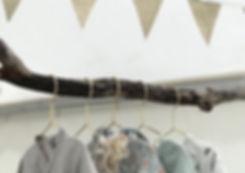 Kläder till försäljnig
