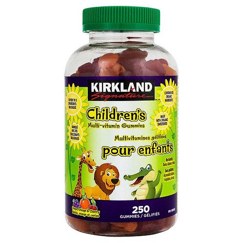 Kirkland Signature 兒童多種維他命軟糖(250粒)